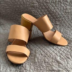 Madewell The Kiera Mule Sandal- Beige